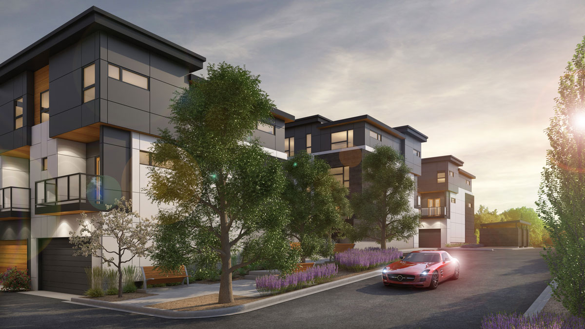 Wilshire - Townhomes at West District Calgary