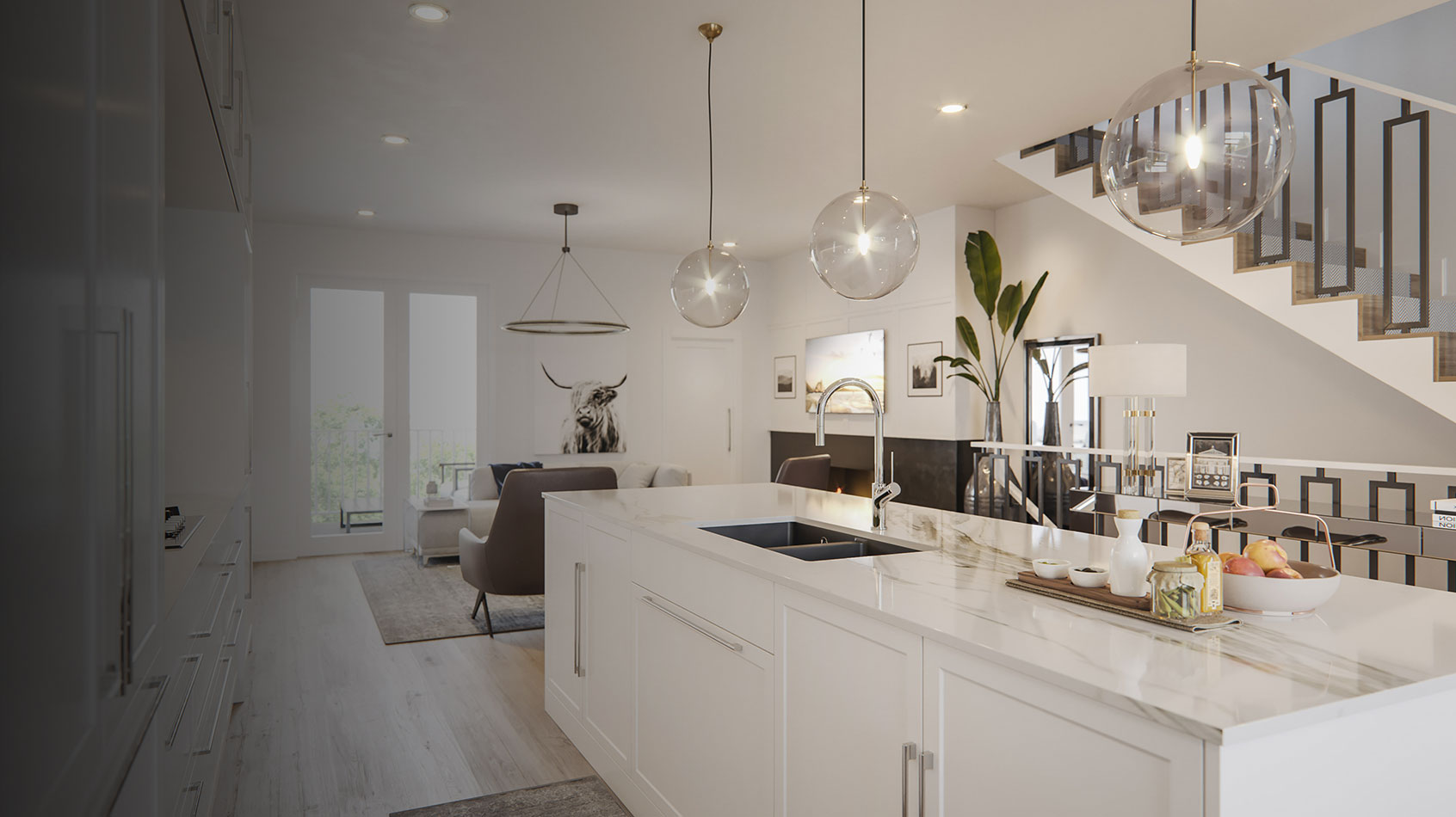 Wilshire Townhomes - Interior - Kitchen