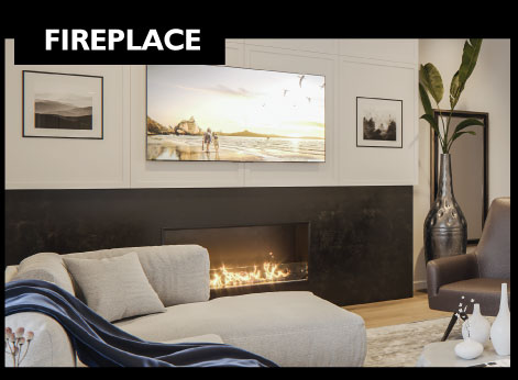 Wilshire - FREE Summer Upgrade - Fireplace